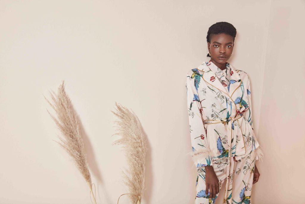 dress by designer Taibo Bacar,