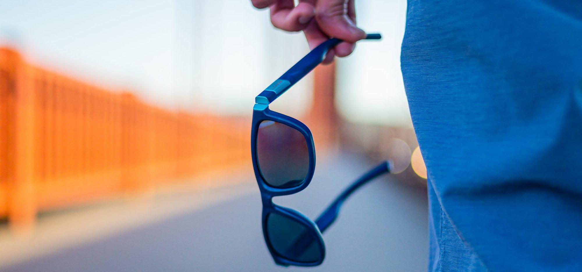 The Ocean Cleanup sunglasses by Yves Béhar