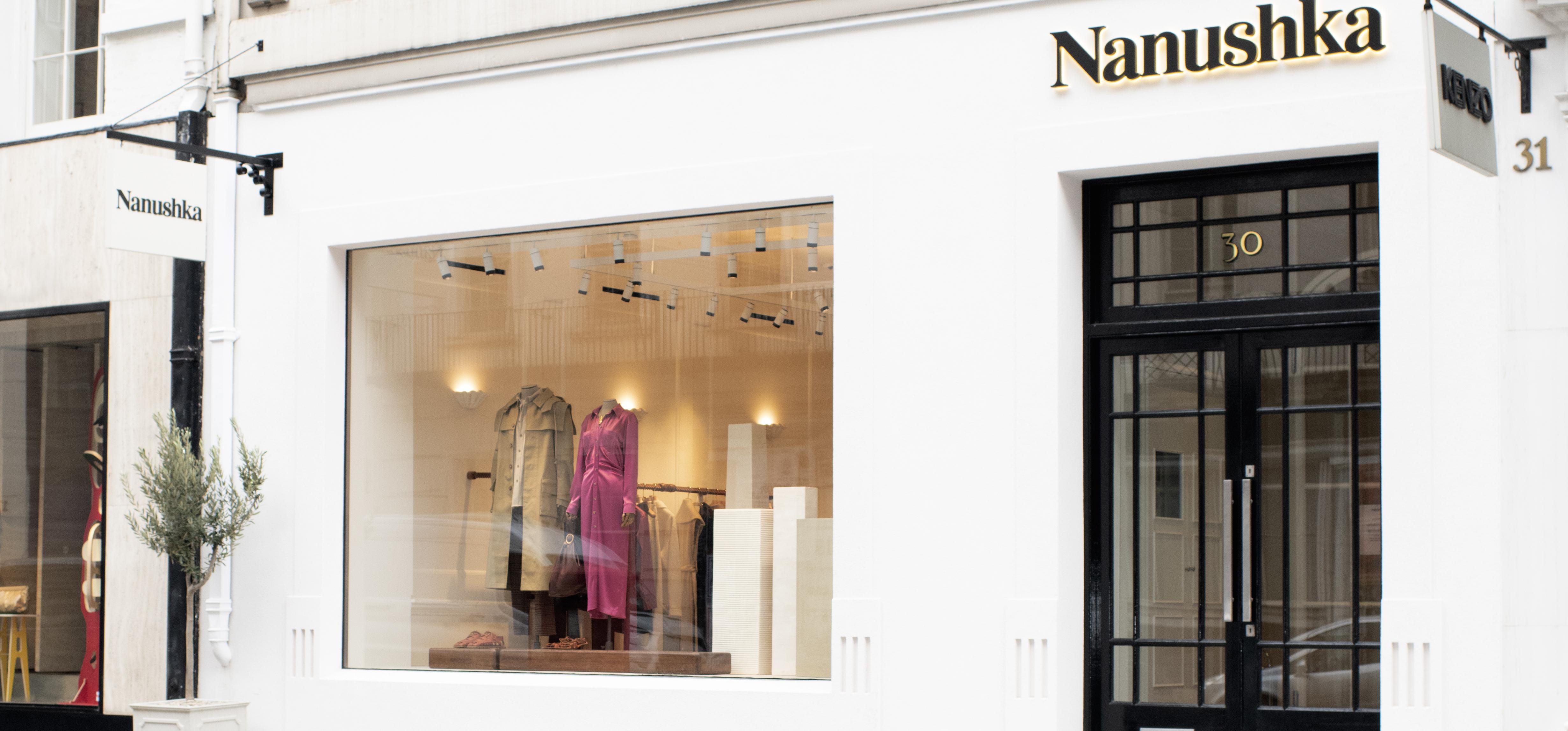 Nanushka store, Mayfair, London