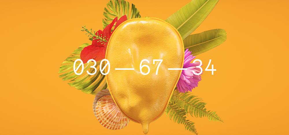 Mango Sorbet by Coloro