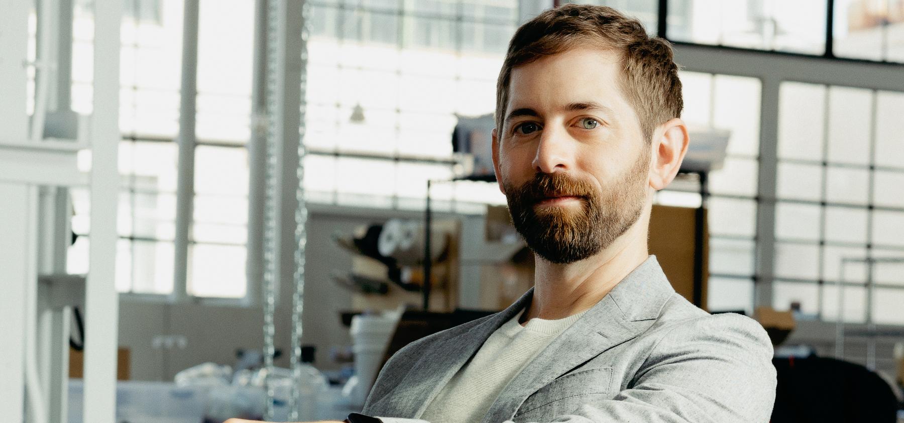 Dan Widmaier, founder of Bolt Threads