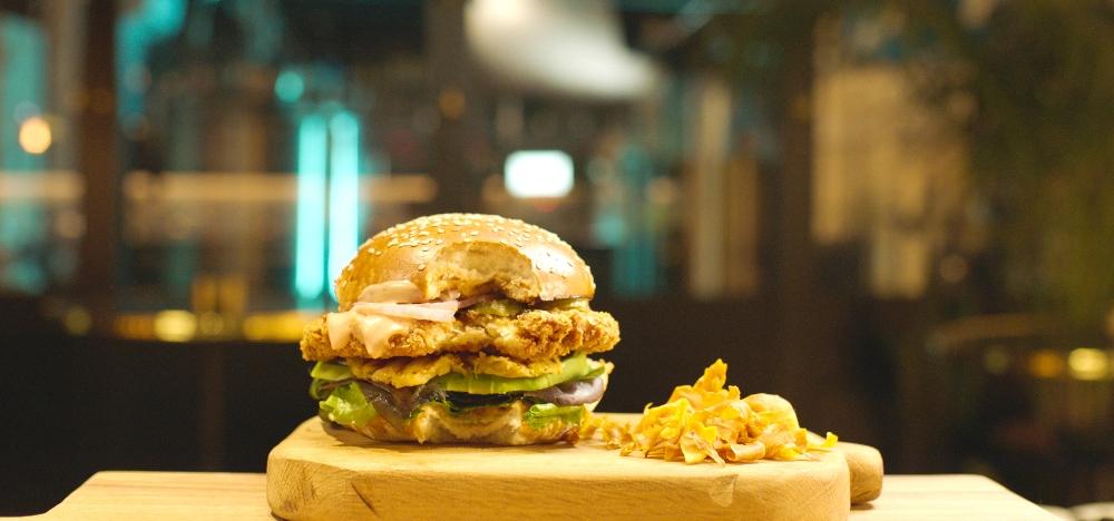 SuperMeat burger